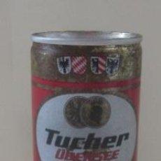 Coleccionismo de cervezas: LATA DE CERVEZA TUCHER URBESEE. Lote 58971185