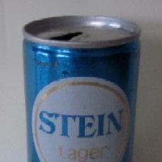 Coleccionismo de cervezas: LATA CERVEZA STEIN LAGER. Lote 58971840