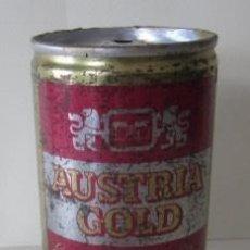 Coleccionismo de cervezas: LATA CERVEZA AUSTRIA GOLD. Lote 58972470