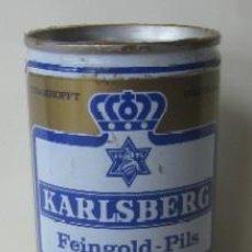 Coleccionismo de cervezas: LATA CERVEZA KARLSBERG - FEINGOLD PILS. Lote 58976890