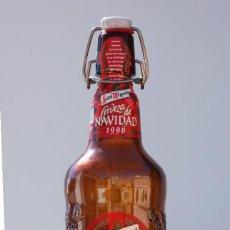 Coleccionismo de cervezas: BOTELLA SAN MIGUEL EDICIÓN ESPECIAL NAVIDAD 1996. Lote 60916683