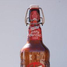 Coleccionismo de cervezas: BOTELLA SAN MIGUEL EDICIÓN ESPECIAL NAVIDAD 1996. Lote 60916751