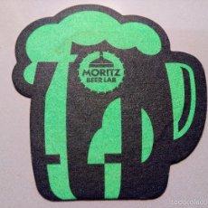Coleccionismo de cervezas: POSAVASOS CERVEZA MORITZ. Lote 88899795