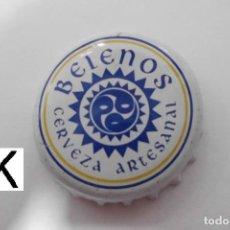 Coleccionismo de cervezas: CHAPA TAPON CORONA CERVEZA BELENOS. Lote 98071723