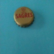 Coleccionismo de cervezas: CHAPA CERVEJA SAGRESL.PORTUGAL. Lote 61693360