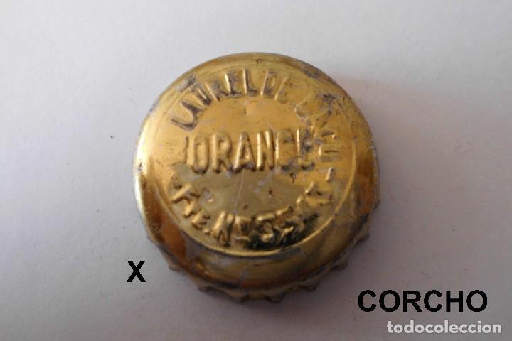 CORONA BOTTLE CAP KRONKORKEN TAPPI CAPSULE LAUREL DE BACO - MADRID, usado segunda mano