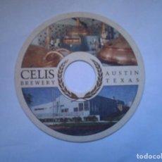 Coleccionismo de cervezas: POSAVASO CERVEZA CELIS BREWERY USA. Lote 64416263