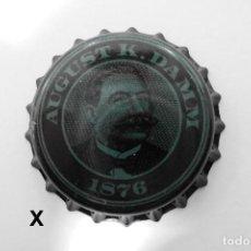 Coleccionismo de cervezas: TAPON CORONA BEER BOTTLE CAP KRONKORKEN TAPPI CAPSULE AUGUST K.DAMM. Lote 98084519