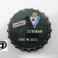 Coleccionismo de cervezas: TAPON CORONA CHAPA BEER BOTTLE CAP KRONKORKEN TAPPI CAPSULE CERVEZA SAN MIGUEL EIBAR. Lote 205039852