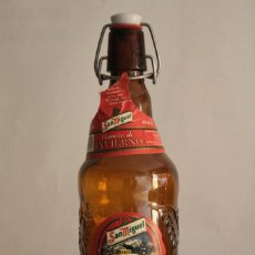 Coleccionismo de cervezas: BOTELLA SAN MIGUEL INVIERNO 1997. Lote 67108685