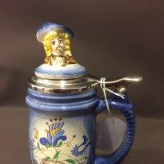 Coleccionismo de cervezas: JARRA DE CERVEZA POLACA. Lote 67397685
