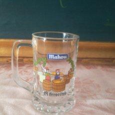 Coleccionismo de cervezas: JARRA MAHOU EL CERVECERO. Lote 71106934
