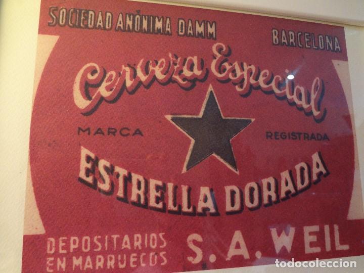 Coleccionismo de cervezas: Cuadro archivo histórico DAMM Edición exclusiva - Foto 4 - 74615003