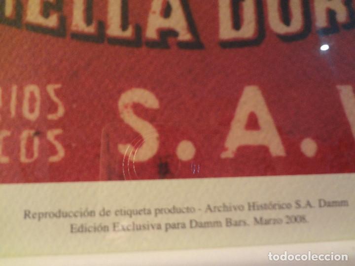 Coleccionismo de cervezas: Cuadro archivo histórico DAMM Edición exclusiva - Foto 6 - 74615003