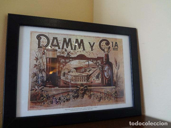 Coleccionismo de cervezas: Cuadro archivo histórico DAMM Edición exclusiva - Foto 3 - 74615695