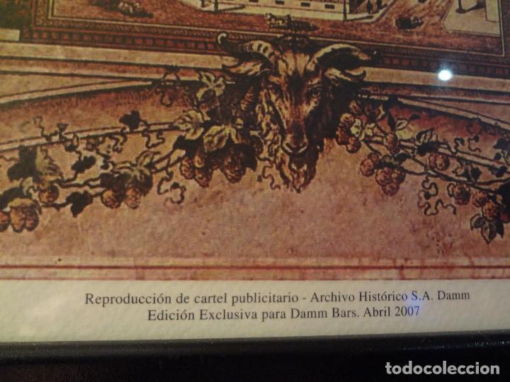 Coleccionismo de cervezas: Cuadro archivo histórico DAMM Edición exclusiva - Foto 6 - 74615695