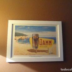 Coleccionismo de cervezas: CUADRO ARCHIVO HISTÓRICO DAMM EDICIÓN EXCLUSIVA. Lote 74616775