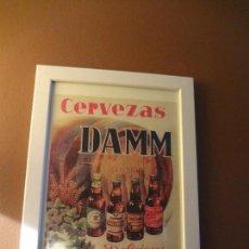 Coleccionismo de cervezas: CUADRO ARCHIVO HISTÓRICO DAMM EDICIÓN EXCLUSIVA. Lote 74617947