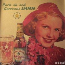 Coleccionismo de cervezas: CUADRO ARCHIVO HISTÓRICO DAMM EDICIÓN EXCLUSIVA. Lote 74624747