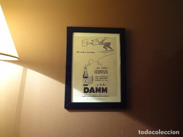 Coleccionismo de cervezas: Cuadro archivo histórico DAMM Edición exclusiva - Foto 3 - 74624927