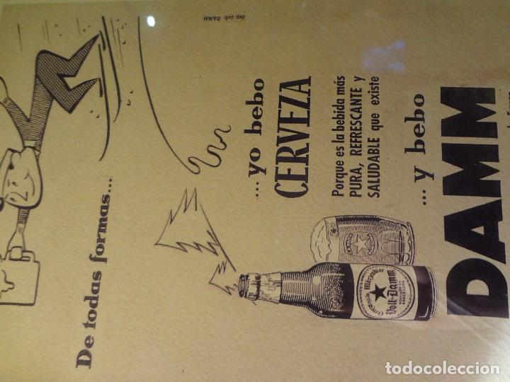 Coleccionismo de cervezas: Cuadro archivo histórico DAMM Edición exclusiva - Foto 4 - 74624927