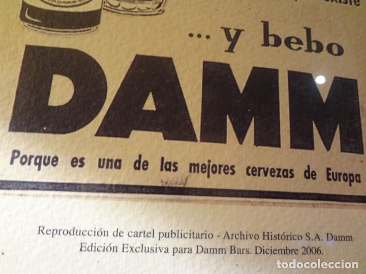 CUADRO ARCHIVO HISTÓRICO DAMM EDICIÓN EXCLUSIVA (Coleccionismo - Botellas y Bebidas - Cerveza )