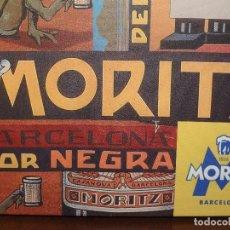 Coleccionismo de cervezas: CUADRO LIENZO CERVEZA MORITZ. Lote 137820900