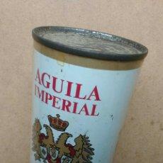 Coleccionismo de cervezas: CERVEZA AGUILA IMPERIAL LATA FLAT TOP ESPAÑA AÑOS '60. Lote 75998087