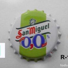 Coleccionismo de cervezas: TAPON CORONA BEER BOTTLE CAP KRONKORKEN TAPPI CAPSULE SAN MIGUEL 0,0 MANZANA. Lote 98084071