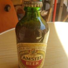 Coleccionismo de cervezas: BOTELLIN AMSTEL BEER. Lote 78833121