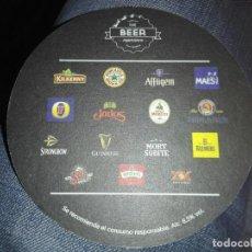 Coleccionismo de cervezas: POSAVASOS CERVEZA KILKENNY THE BEER EXPERIENCE. Lote 111430658