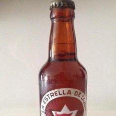 Coleccionismo de cervezas: BOTELLA CERVEZA ANTIGUA SERIGRAFIADA. Lote 81178976