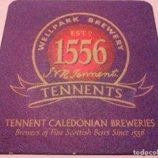 Coleccionismo de cervezas: POSAVASOS CERVEZA TENNENTS. Lote 82499324