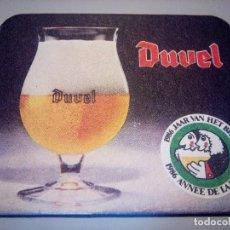 Coleccionismo de cervezas: POSAVASOS CERVEZA DUVEL. Lote 82573748