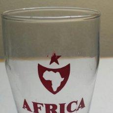 Coleccionismo de cervezas: VASO ANTIGUO CERVEZA ÁFRICA STAR ESCASO. Lote 83162914