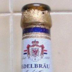 Coleccionismo de cervezas: BOTELLA DE CERVEZA DE LA MARCA FURSTENBERG EDELBRAU. VACÍA Y SIN CHAPA. BOTELLA DE 330 ML. Lote 83516272