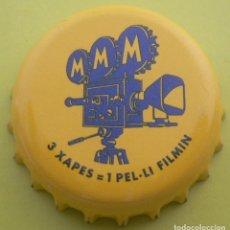 Coleccionismo de cervezas: CHAPA CERVEZA MORITZ-SPAIN- , KRONKORKEN TAPPI ATENCIÓN PROMOCIÓN NUEVA!. Lote 142794578