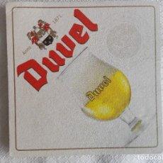 Coleccionismo de cervezas: POSAVASOS CERVEZA DUVEL. Lote 83548976