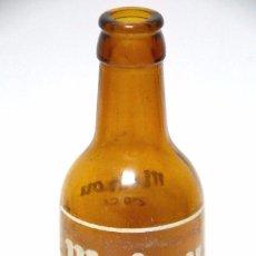 Coleccionismo de cervezas: CERVEZA MAHOU BOTELLA AÑOS 70? MADRID NO CHAPA. Lote 83562048