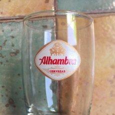 Coleccionismo de cervezas: SEIS VASOS CERVEZA ALHAMBRA. Lote 151470364