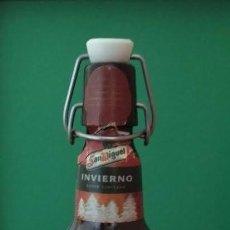 Coleccionismo de cervezas: BOTELLA CERVEZA SAN MIGUEL INVIERNO 2002 - 65CL 77MM 13. Lote 84432128