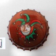 Coleccionismo de cervezas: TAPON CORONA CHAPA BEER BOTTLE CAP KRONKORKEN TAPPI CAPSULE DE HALVE MAAN - BELGICA. Lote 277254088