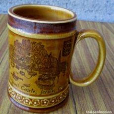 Coleccionismo de cervezas: JARRA DE CERVEZA ALEMANA DE CERÁMICA. Lote 86456752