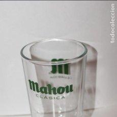 Coleccionismo de cervezas: VASO CERVEZA MAHOU CLASICA. CAÑA. 10.5 CM DE ALTO. UNICO A LA VENTA.. Lote 86964756