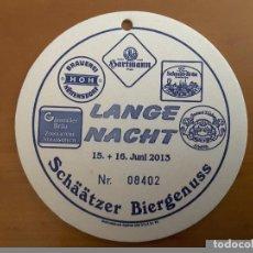 Coleccionismo de cervezas: POSAVASO CERVEZA ALEMANIA. Lote 88894104