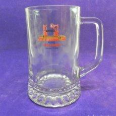 Coleccionismo de cervezas: JARRA DE CERVEZA CRUZCAMPO EXPO'92 SEVILLA. CERVEZAS. Lote 89099120