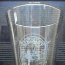 Coleccionismo de cervezas: VASO ADELSCOTT BIERE AU MALTA WHISKY. SERIGRADIADO. MIDE 17,6CM . Lote 89221412