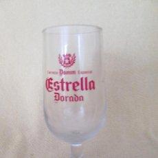 Coleccionismo de cervezas: ANTIGUA COPA CERVEZA ESTRELLA DORADA. Lote 89509340