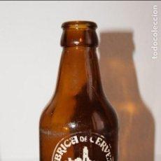 Coleccionismo de cervezas: BOTELLA DE CERVEZA EL ALCAZAR. JAÉN. Lote 89556424