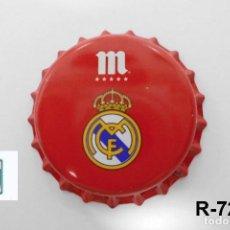 Coleccionismo de cervezas: TAPON CORONA CHAPA BEER BOTTLE CAP KRONKORKEN TAPPI CAPSULE CERVEZA MAHOU REAL MADRID. Lote 277251288